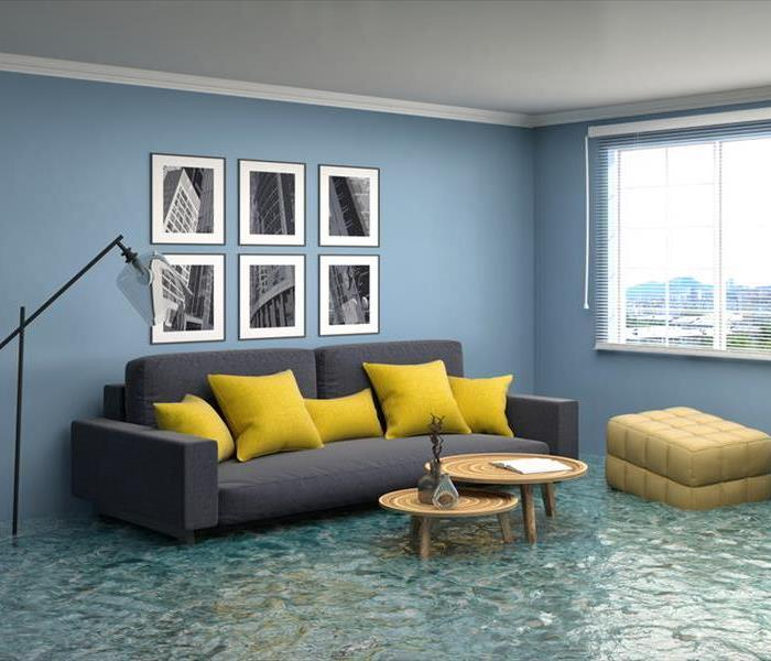 Water Damage Handling a Water Loss in Hollywood, California